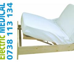 Pat cu ridicare automat picioare si cap din telecomanda, îngrijire bătrâni sau bolnavi.