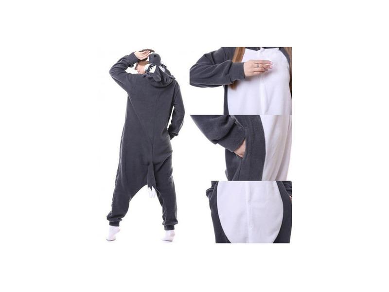 Pijamale copii,  model Lup - 1/2