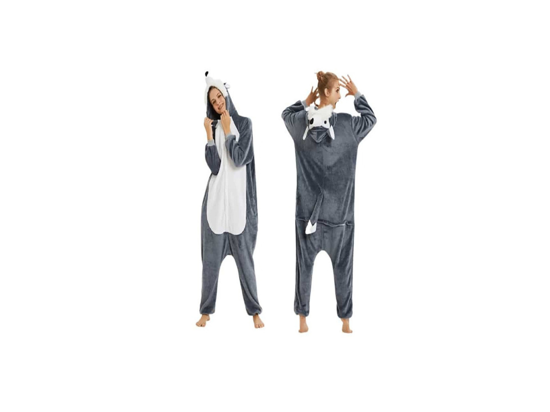 Pijamale copii,  model Lup - 2/2